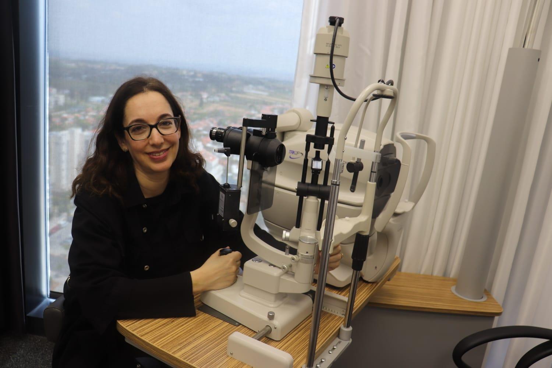 """ד""""ר צביה בורגנסקי-אליאש מומחית במחלות עיניים"""