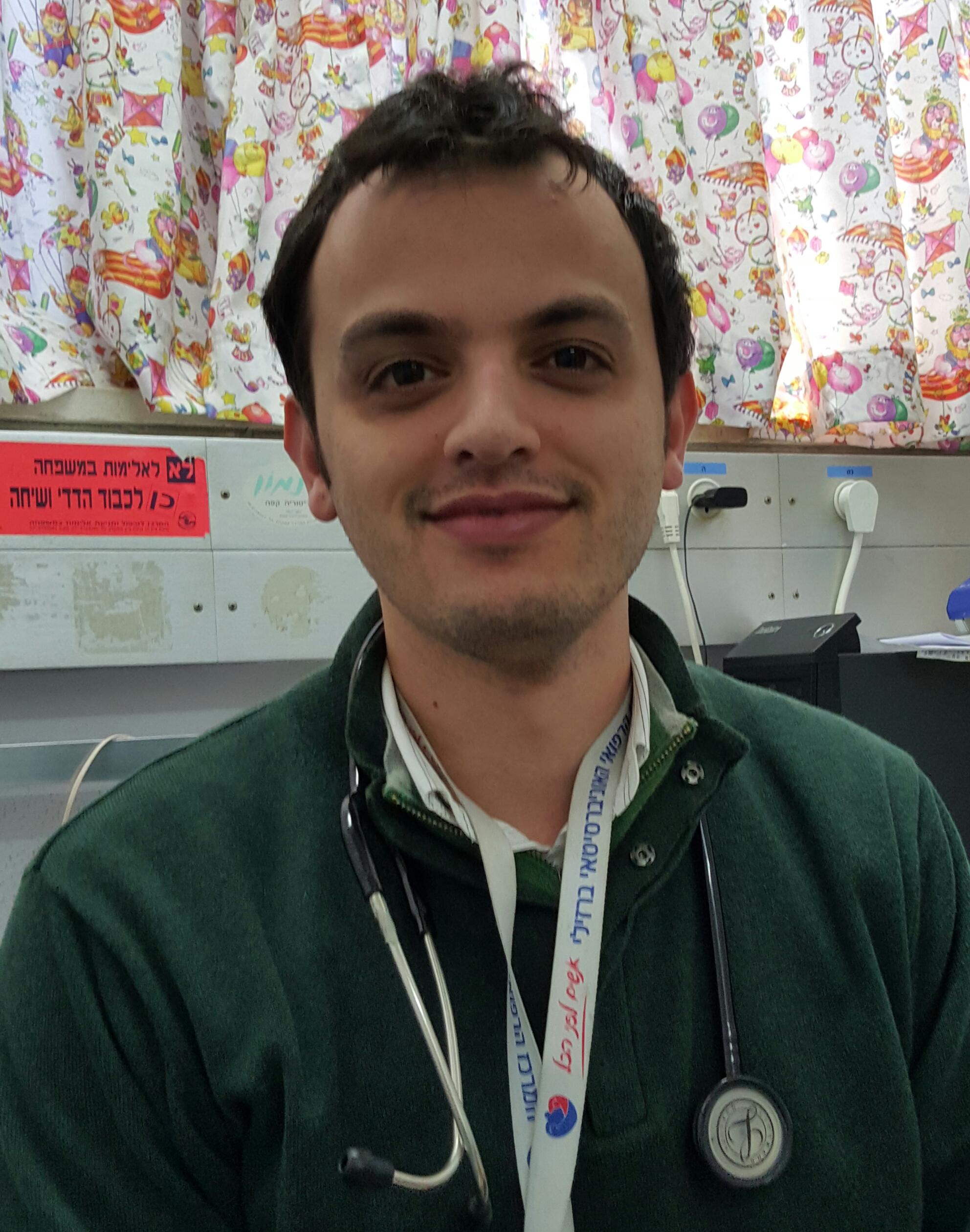 """ד""""ר מוחמד יעקוב אבו סעוד מתמחה בהימטו-אונקולוגית ילדים, מומחה ברפואת ילדים"""