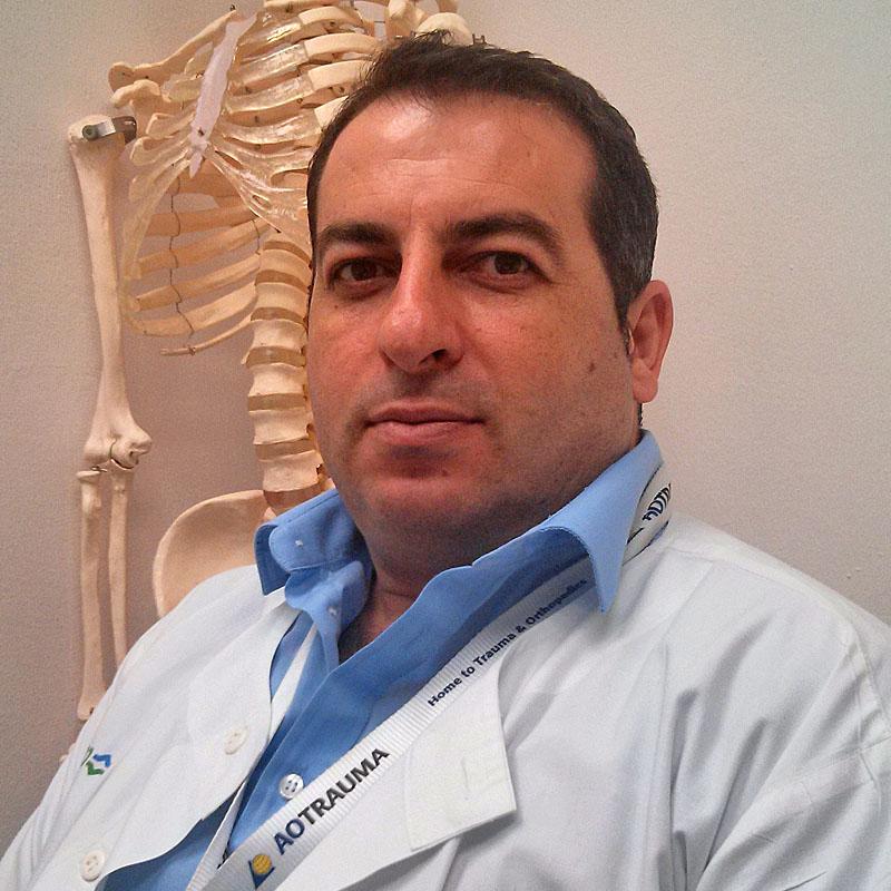 """ד""""ר פאדי חאזן מומחה בכירורגיה אורתופדית"""